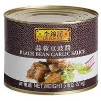 Lee Kum Kee 5 lb. Black Bean Garlic Sauce - 5/Case