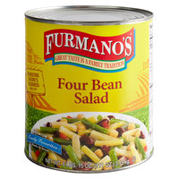 Furmano's #10 Can Four Bean Salad - 6/Case
