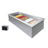 Hatco CWBX-S1 Standard One Pan Slim Drop-In Remote Refrigerated Cold Food Well - 120V