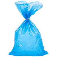 10 lb. Blue Plastic Ice Bag   - 1000/Bundle