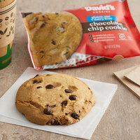 David's Cookies 3 oz. Gluten-Free Individually-Wrapped Chocolate Chip Cookie - 24/Case