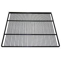True 883525 Black Coated Wire Shelf - 19 11/16 inch x 18 inch