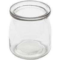 American Metalcraft RGJ6 6 oz. Round Glass Jar