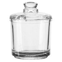 Vollrath 527 Dripcut® 6 oz. Glass Condiment Jar and Lid   - 12/Case