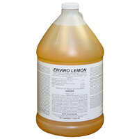 Enviro Lemon 1 Gallon Concentrated Detergent / Disinfectant