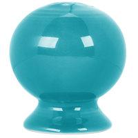 Homer Laughlin 751107 Fiesta Turquoise Pepper Shaker - 12/Case