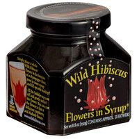 Wild Hibiscus 8.8 oz. Hibiscus Flowers in Syrup