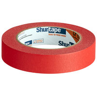 Shurtape CP 631 15/16 inch x 60 Yards Red General Masking Tape