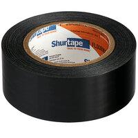 Shurtape PE 100 Floormate 1 7/8 inch x 60 Yards Black Temporary Floor Tape