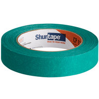 Shurtape CP 631 15/16 inch x 60 Yards Green General Masking Tape