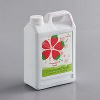 Bossen 64 fl. oz. Strawberry Concentrated Syrup with Pulp