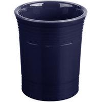 Homer Laughlin 447105 Fiesta Cobalt Blue 6 5/8 inch Utensil Crock - 4/Case