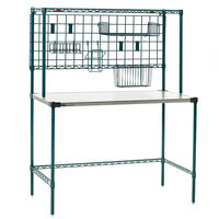 Metro SMSP2448NK3 48 inch Super Erecta Prep Station with SmartWall