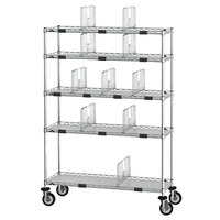 Metro CR1448TGCOPS 69 inch Wire Take-Out Shelving Station