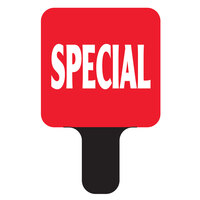Deli Tag Mini Topper - SPECIAL - Red