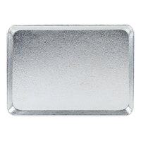Chicago Metallic 40947 Silver 9 1/2 inch x 13 inch Customizable Bakery Display Tray