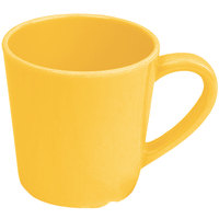 Thunder Group CR9018YW Smooth Melamine 7 oz. Yellow Mug - 12/Case