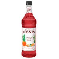 Monin 1 Liter Premium Orange Spritz Flavoring Syrup