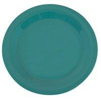 Carlisle 3300209 Sierrus 10 1/2 inch Meadow Green Narrow Rim Melamine Plate - 12/Case