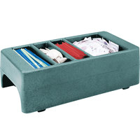 Cambro LCDCH401 Slate Blue Condiment Holder for Cambro 250LCD / 500LCD / UC250 / UC500