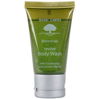 Basic Earth Botanicals Reviving Body Wash with Flip-Top Cap 1 oz. - 300/Case