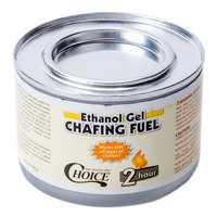 Choice 2 Hour Ethanol Gel Chafing Dish Fuel - 72/Case