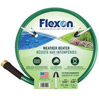 Flexon WB58100 5/8 inch x 100' Green Medium-Duty Garden Hose
