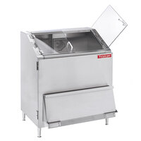 Texican Specialty Products TCD1 El Primo 44 Gallon Stainless Steel Chip Warmer with Thick Clear Lexan Loading Doors - 120V