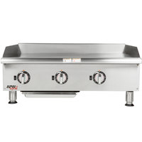 APW Wyott EG-36i 36 inch Electric Countertop Griddle 208V