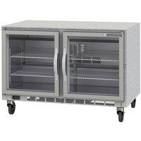 Beverage-Air UCF60AHC-25 60 inch Glass Door Undercounter Freezer