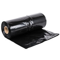 Hercules Contractor Trash Bag 55-60 Gallon 3 Mil 38 inch x 58 inch Low Density Can Liner - 50/Case