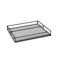 Beverage-Air 412-071D-02 Black Flat Wine Rack for MMR72HC-WINE and MMRR72HC-WINE Double Section