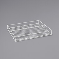 Beverage-Air 412-071D-01 White Flat Wine Rack for MMR72HC-WINE and MMRR72HC-WINE Double Section