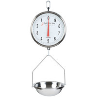 Cardinal Detecto T-3530 32 lb. Hanging Pan Scale with Double Dial, Legal for Trade