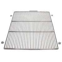 True 919448 Stainless Steel Wire Shelf with Shelf Supports and 1 inch Standoff - 25 inch x 27 3/4 inch