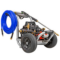 Simpson 61102 Aluminum Sanitizing Mister and Pressure Washer with Induction Engine and 75' Hose - 1200 PSI; 2.0 GPM