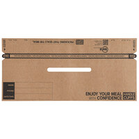 13 inch Handle Cuff Tamper Evident Bag Seal for 10 inch to 11 inch Bags - 250/Case