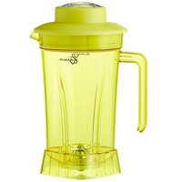 Avamix BLJAR64PY 64 oz. Yellow Tritan Plastic Container with Blade and Lid for BX and BL Series Blenders