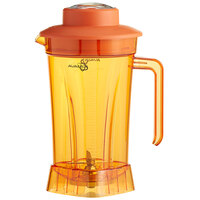 Avamix BLJAR64PO 64 oz. Orange Polycarbonate Container with Blade and Lid for BX and BL Series Blenders