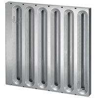Kason® 7003 Series Trapper™ 20 inch (H) x 20 inch (W) Galvanized Steel Grease Filter