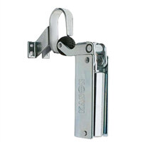 Kason® 1092 Hydraulic Door Closer (Chrome, Flush - 3/4 inch)