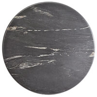 Lancaster Table & Seating Excalibur 24 inch Round Table Top with Smooth Letizia Finish