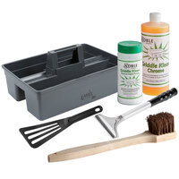 Chrome Griddle Cleaning Gear Kit