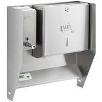 Regency Top Mounted Paper Towel and Soap Dispenser for 17 inch Wide Hand Sinks