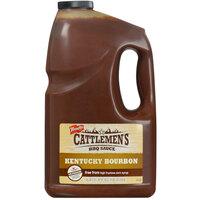 Cattlemen's 1 Gallon Kentucky Bourbon Barbecue Sauce - 2/Case