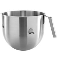 KitchenAid KSMC7QBOWL 7 Qt. Stainless Steel Mixing Bowl with Handle for Stand Mixers
