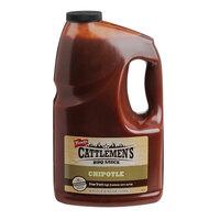 Cattlemen's 1 Gallon Chipotle Barbecue Sauce - 2/Case