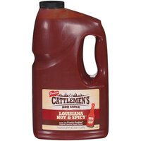 Cattlemen's 1 Gallon Louisiana Hot and Spicy Barbecue Sauce - 4/Case