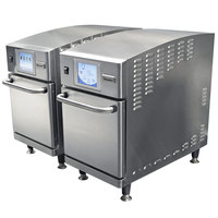 Merrychef eikon e2 Twin High-Speed Countertop Combi Ovens - 0.64 Cu. Ft. Per Oven