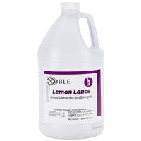1 Gallon Noble Chemical Lemon Lance Disinfectant & Detergent Cleaner - Ecolab® 14522 Alternative